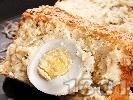 Рецепта Домашен зеленчуков кекс с варени яйца и тиквички